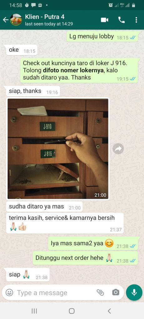 Testimoni Sewa Harian Apartemen Mares Depok