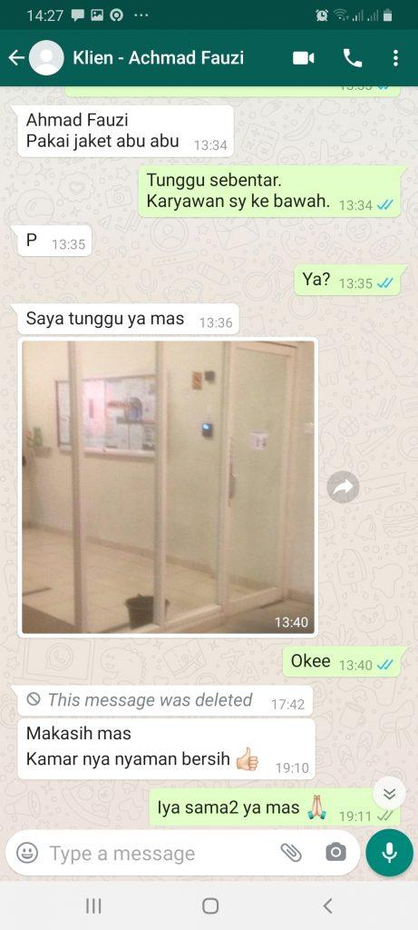 Testimoni Hotel Mares Kota Depok Jawa Barat